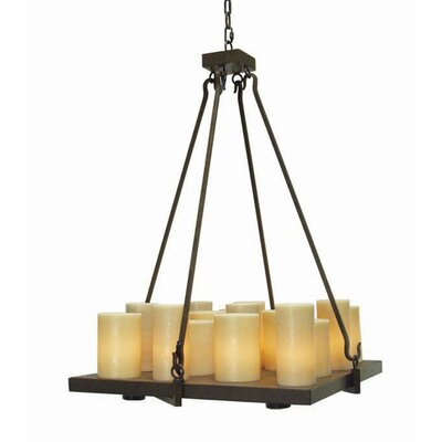 Altar 21-Light Candle-Style Chandelier