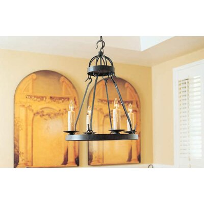 Lakeshore 4-Light Candle-Style Chandelier