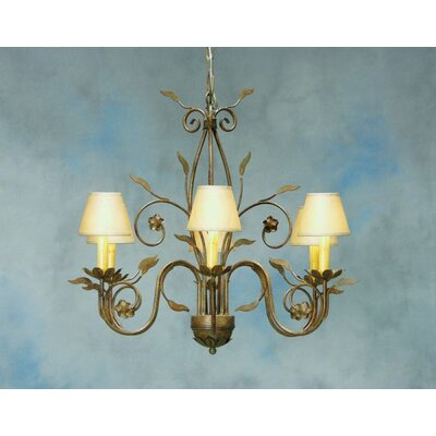 Bordeaux 6-Light Shaded Chandelier