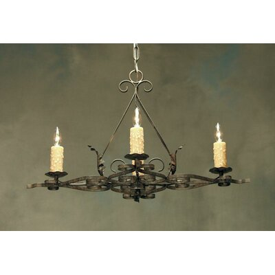 Elianna 4-Light Candle-Style Chandelier
