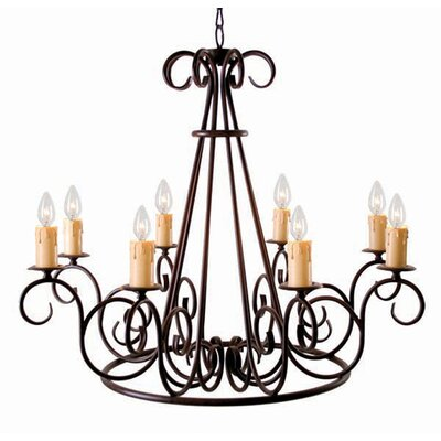 Marguerite 8-Light Candle-Style Chandelier