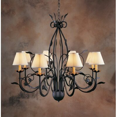 Bordeaux 8-Light Shaded Chandelier
