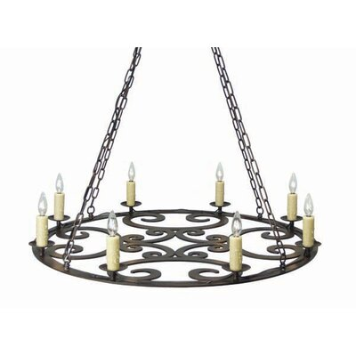Ashley 8-Light Candle-Style Chandelier