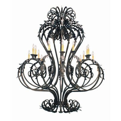 Josephine 16-Light Candle-Style Chandelier