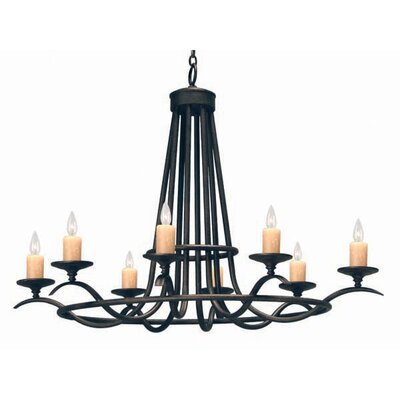 Octavia 8-Light Candle-Style Chandelier