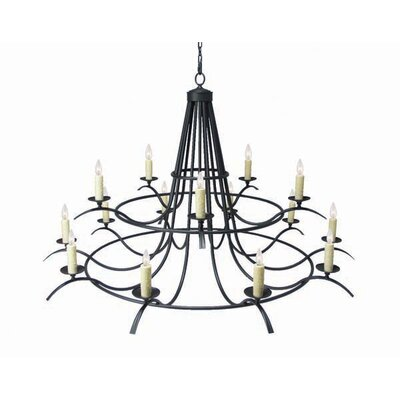 Octavia 15-Light Candle-Style Chandelier