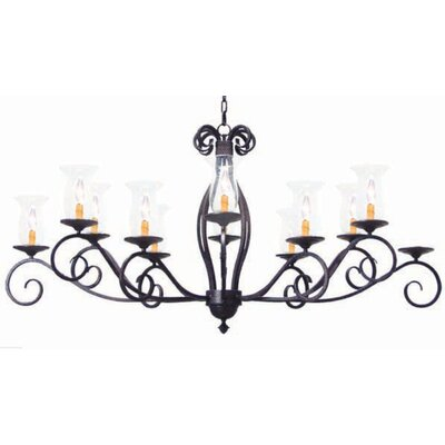 Firenze 12-Light Candle-Style Chandelier