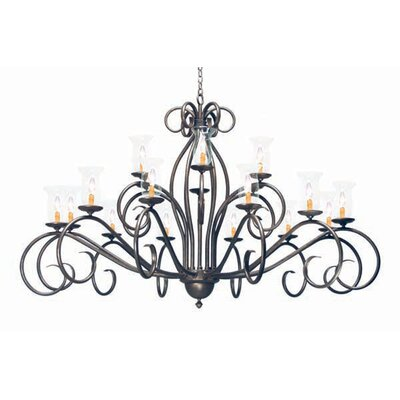 Sienna 18-Light Candle-Style Chandelier