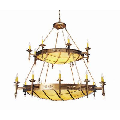 Valencia 36-Light Candle-Style Chandelier