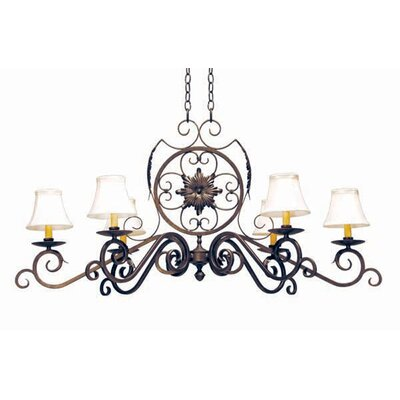 Christabel 6-Light Shaded Chandelier