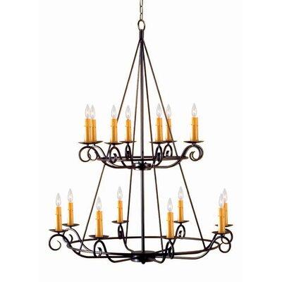 Estrella 16-Light Candle-Style Chandelier