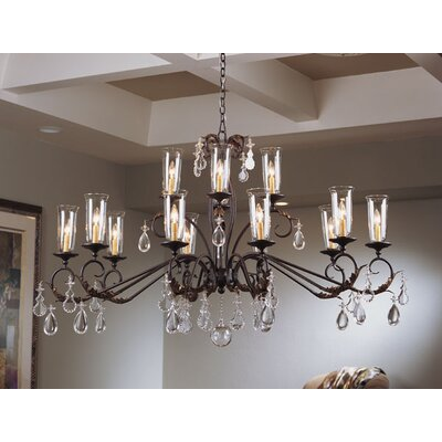 Windsor 14-Light Crystal Chandelier
