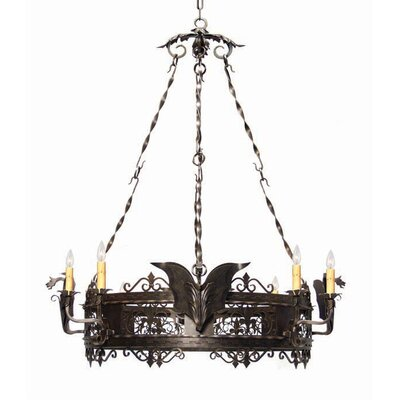 Dragone 8-Light Candle-Style Chandelier