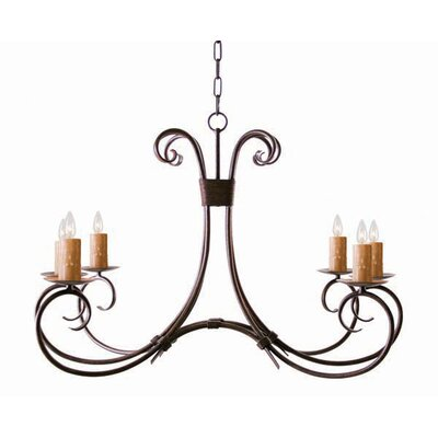 Elon 6-Light Candle-Style Chandelier