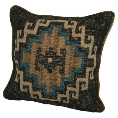 Marrakesh Cotton Throw Pillow Color: Indigo