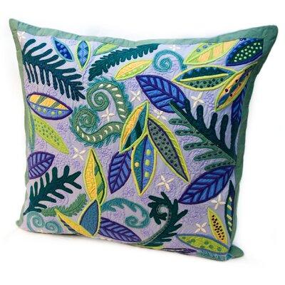 Susan Sargent Rain Leaves Throw Pillow