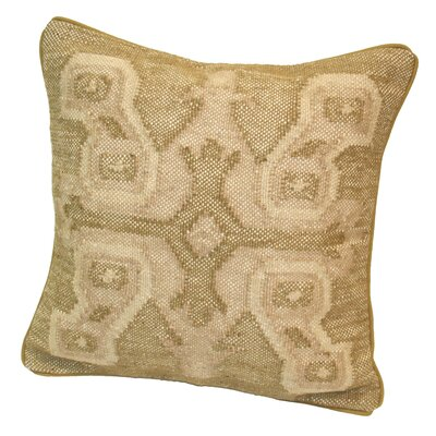 Persia Pre-Stuffed Throw Pillow Color: Linen