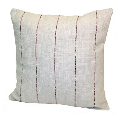 Highlander Striped Throw Pillow Size: 18 x 18, Color: Rust