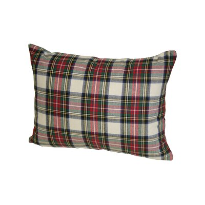 Dress Stewart Plaid Boudoir/Breakfast Pillow