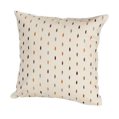 Coastal Drops Indoor/Outdoor Throw Pillow Size: 17 H x 17 W x 4 D, Color: Sand