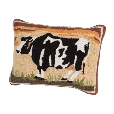 Cow Hooked Boudoir/Breakfast Pillow