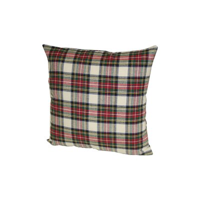 Dress Stewart Plaid Throw Pillow Size: 24 H x 24 W