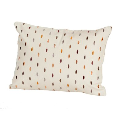 Coastal Drops Indoor/Outdoor LBoudoir/Breakfast Pillow Color: Sand