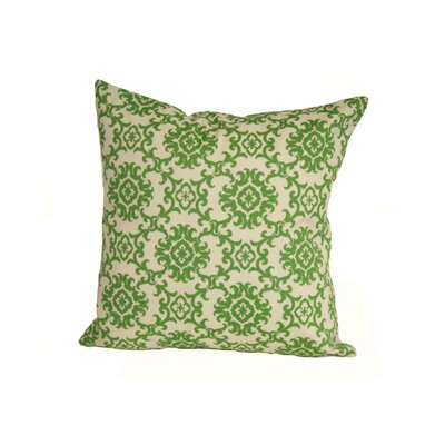 Coastal Medallion Indoor/Outdoor Throw Pillow Size: 24 H x 24 W x 5 D, Color: Green