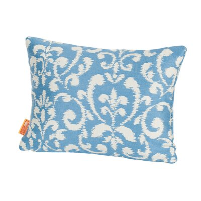 Coastal Amsterdam Indoor/Outdoor Lumbar Pillow Color: Blue