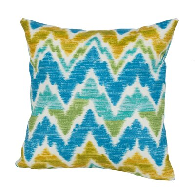 Tiago Indoor/Outdoor Throw Pillow Size: 17 H x 17 W x 4 D