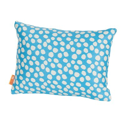 Coastal Pop Rocks Indoor/Outdoor Lumbar Pillow Color: Light Blue