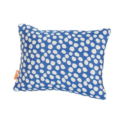 Coastal Pop Rocks Indoor/Outdoor Lumbar Pillow Color: Royal