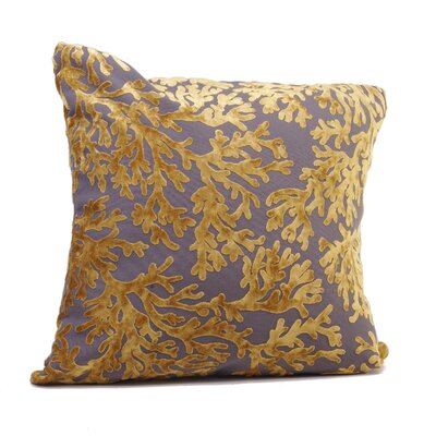 St. Tropez Throw Pillow Size: 24 H x 24 W x 5 D, Color: Golden