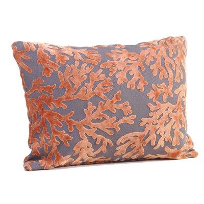 St. Tropez Boudoir/Breakfast Pillow Color: Salmon