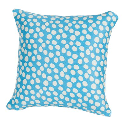 Coastal Pop Rocks Indoor/Outdoor Throw Pillow Size: 24 H x 24 W x 5 D, Color: Light Blue