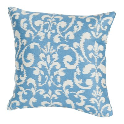 Plath Indoor/Outdoor Throw Pillow Size: 17 H x 17 W x 4 D, Color: Blue