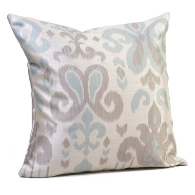 Madrid Throw Pillow Size: 17 H x 17 W x 4 D, Color: Blue