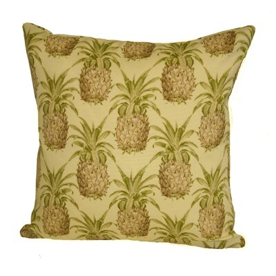 Sunbury Pineapple Indoor/Outdoor Throw Pillow Size: 24 H x 24 W x 5 D