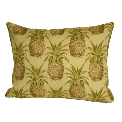 Coastal Pineapple Indoor/Outdoor Boudoir/Breakfast Pillow