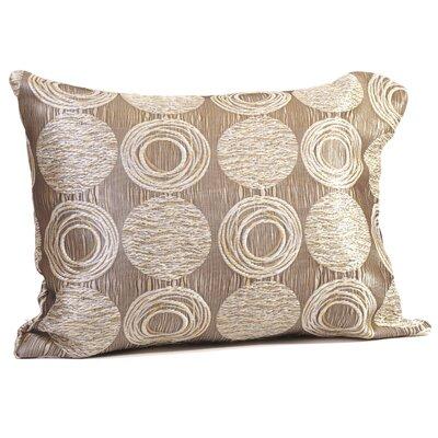 Cubism Circle Boudoir/Breakfast Pillow