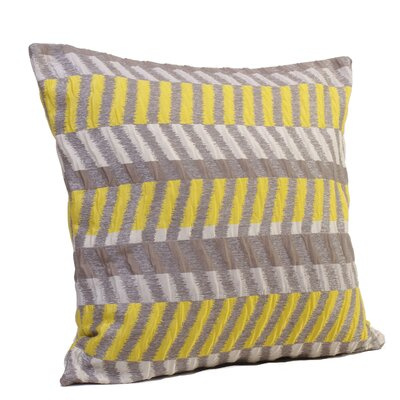 Gypsy Throw Pillow Size: 17 H x 17 W x 4 D, Color: Sunny