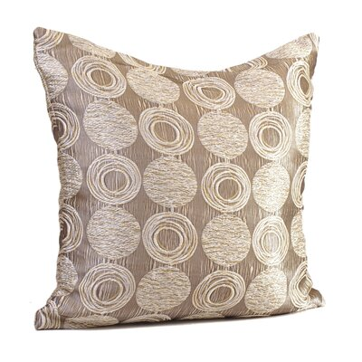 Cubism Circle Throw Pillow Size: 17 H x 17 W x 4 D