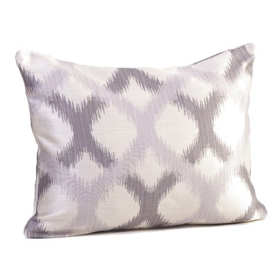 Barcelona Lumbar Pillow Color: Silver