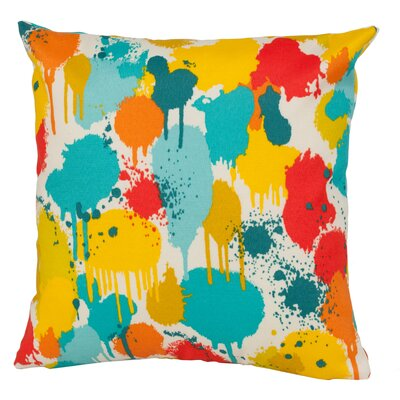 Neddick Indoor/Outdoor Throw Pillow Size: 17 H x 17 W x 4 D, Color: Multi
