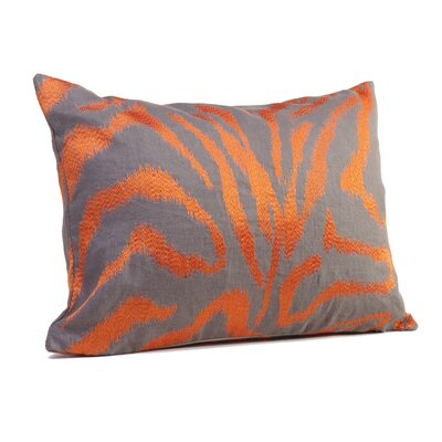 Farrah Boudoir/Breakfast Pillow Color: Tangerine