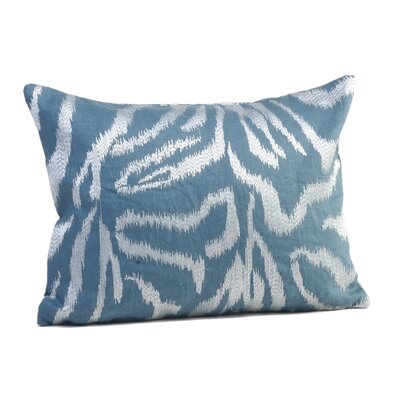 Farrah Boudoir/Breakfast Pillow Color: Deepwater Blue