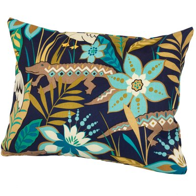 Glade Indoor/Outdoor Lumbar Pillow Color: Blue