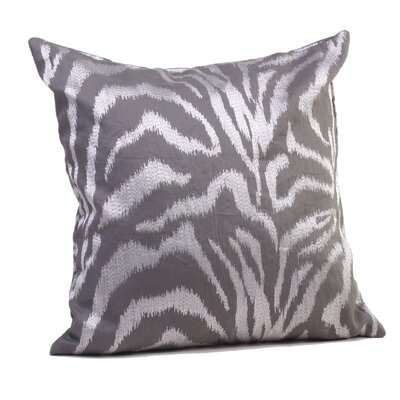 Farrah Throw Pillow Size: 17 H x 17 W x 4 D, Color: Steel