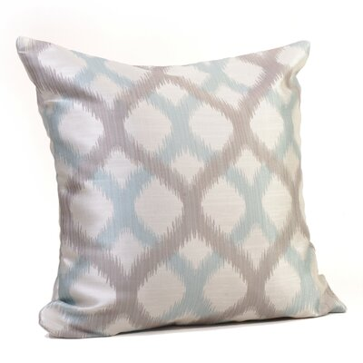 Barcelona Throw Pillow Size: 17 H x 17 W x 4 D, Color: Sky Blue