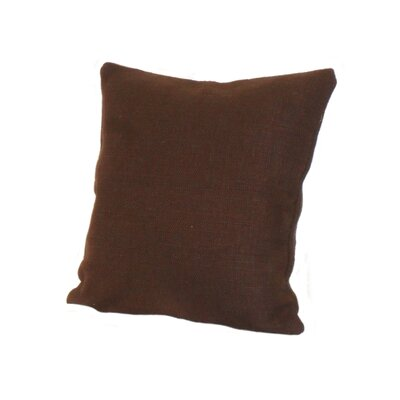 Highlander Pillow Size: 24 x 24, Color: Espresso